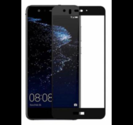 Φιλμ Προστασίας Οθόνης Tempered Glass (άθραυστο ) 9H για Huawei P9 Lite Mini full face black