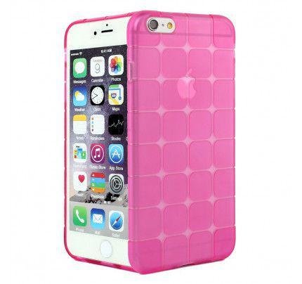 """Θήκη TPU Rubik""""s για iPhone 6 / 6s ροζ χρώματος"""