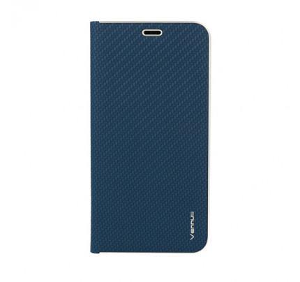 Θήκη Vennus CARBON with frame για Huawei Mate 10 Lite navy ( stans,θήκη για κάρτα)
