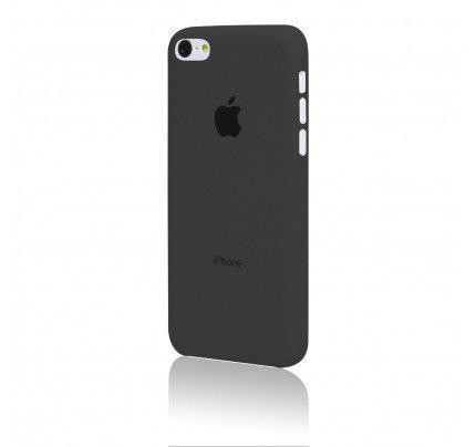 Θήκη TPU Ultra Slim για iPhone 4/4s μαύρου-διάφανου χρώματος