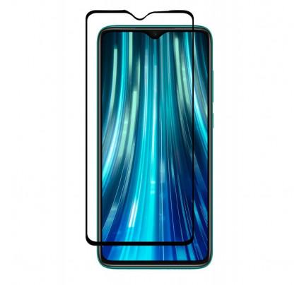 Tempered Glass 9H Full Face Full Glue για Xiaomi Redmi 8A Black