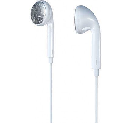 Ακουστικά Stereo Remax Pure Music RM-303 3,5mm για όλα τα smartphones λευκού χρώματος