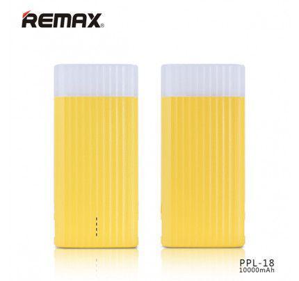 Remax IceCream PowerBank 10000mAh Li-Pol Yellow