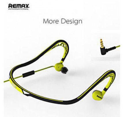 Remax RM-S15 Sport Stereo Headset 3,5mm Yellow