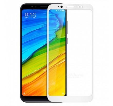 Tempered Glass Full Screen 5D Full glue για Xiaomi Redmi S2 white