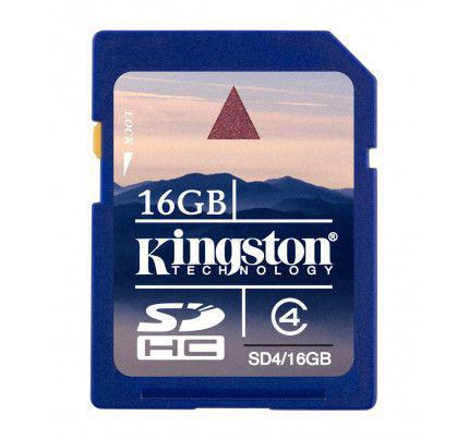 Kingston SDHC 16GB Class 4