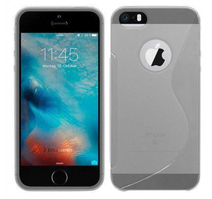 Θήκη TPU S-Line για iPhone 5/ 5s / SE διάφανη