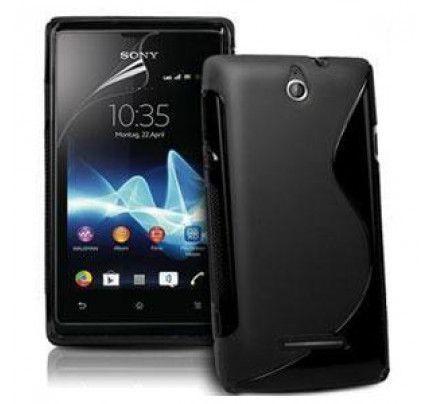 Θήκη ΤPU S-line για Sony Xperia E C1505 black