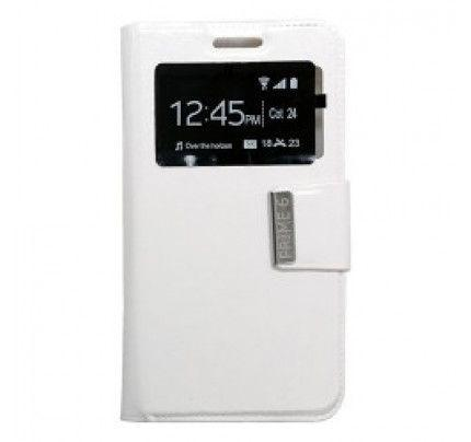 Θήκη Uni S-View για Vodafone Smart Prime 6 white