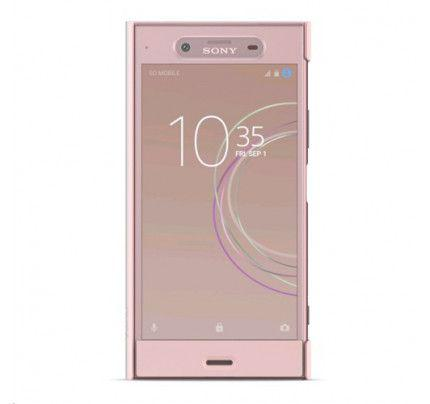 Sony SCTG50 Original Style Cover Stand Xperia XZ1 ροζ χρώματος