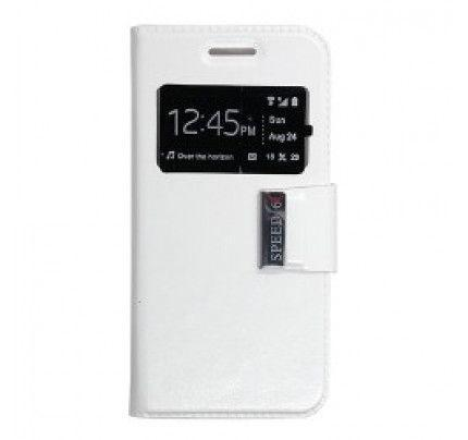 Θήκη Uni S-View για Vodafone Smart Speed 6 white