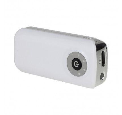 Power Bank ST-047 5600mah με φακό λευκού χρώματος