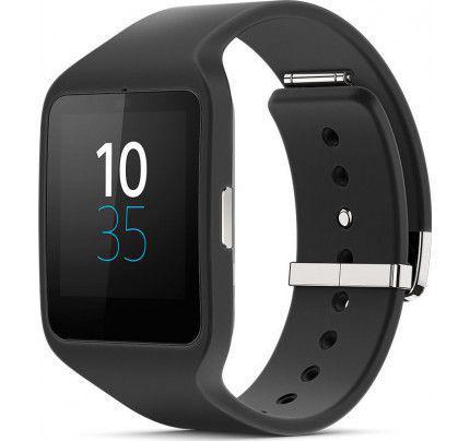 Sony SWR50 Smartwatch3 Silicone Black