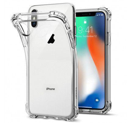 Spigen Rugged Crystal 057CS22117 iPhone X Case - Crystal Clear