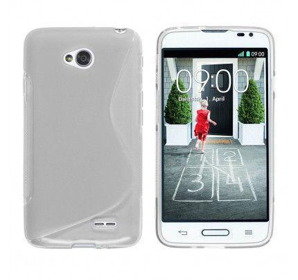 Θήκη TPU S-Line για LG L70/L65 D320 / D325 διάφανη