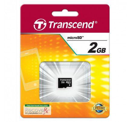 Transcend MicroSD Card 2GB