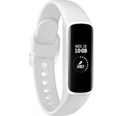 "Samsung SM-R375NZWA SmartWatch Galaxy Fit e 0.74"" (18.9mm) white"
