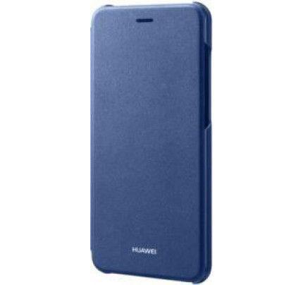 Θήκη Huawei Original Flip Cover Huawei P8 Lite 2017 μπλε χρώματος