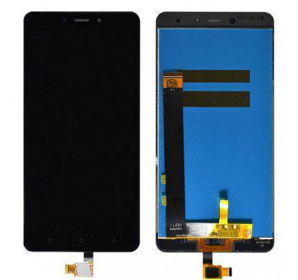 Οθόνη LCD με Μηχανισμό Αφής για Xiaomi Redmi Note 4X μαύρη