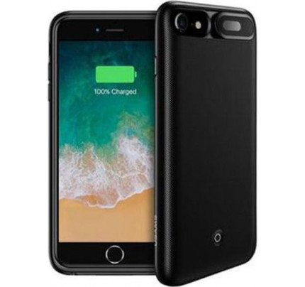 USAMS US-CD25 Power Case 3000mAh Black for iPhone 6/7/8 (EU Blister)