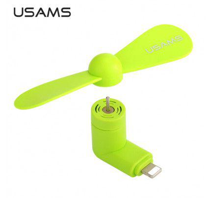 USAMS Mini Fan Lightning Port ( iphone 5 /5s/6/6s ) Green