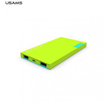 USAMS Power Bank 4000mAh Green