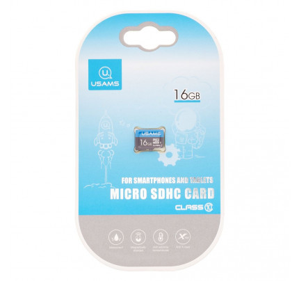 USAMS ZB093 microSDHC 16GB