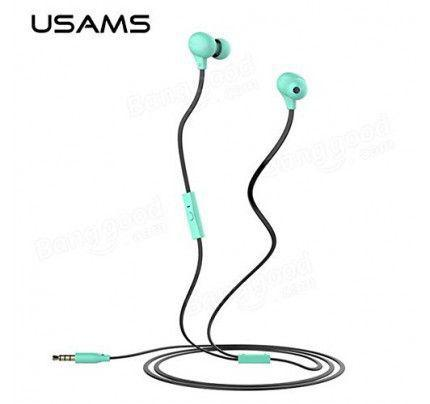 USAMS Ewave Series Stereo Colorful Doug Earphones mint