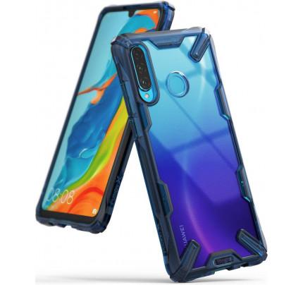 Θήκη Ringke Fusion X για Huawei P30 Lite space blue