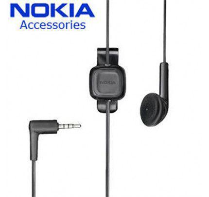 Nokia Headset WH-100 Mono Black (χωρίς συσκευασία)