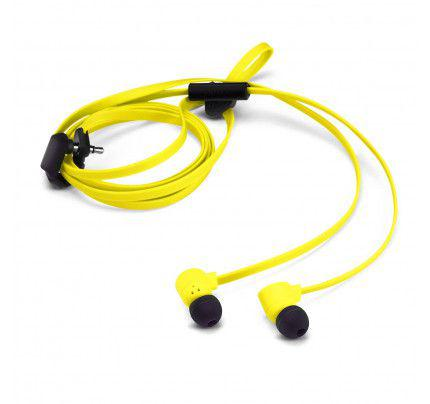 Nokia WH-510Y Stereo Headset Yellow 3,5mm with Flat Cable blister