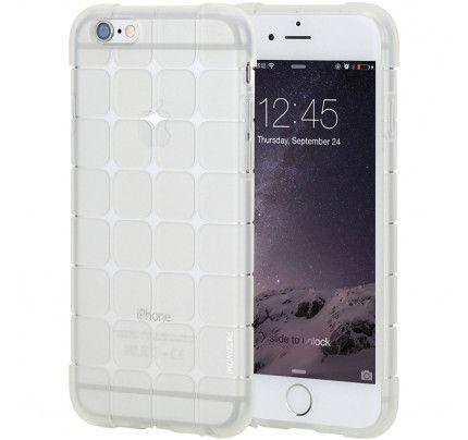"""Θήκη TPU Rubik""""s για iPhone 6 Plus / 6s Plus λευκού χρώματος"""