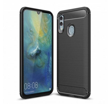 Θήκη OEM Carbon Flexible Cover TPU Case for Huawei P Smart 2019 / Honor 10 Lite black