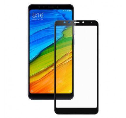 Tempered Glass Screen Protector Πλήρους Κάλυψης για Xiaomi Note 5 black ( glue on all glass )