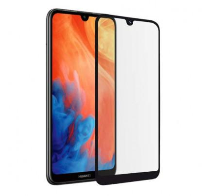 Tempered Glass Πλήρους Κάλυψης 9H 5D Full face Full glue για Huawei Y7 2019 black