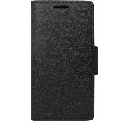 Θήκη OEM Fancy Diary για Huawei P30 Lite stand,θήκες για κάρτες,χρήματα) μαύρου χρώματος