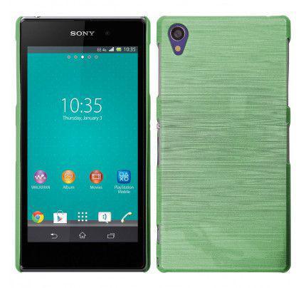Θήκη Jelly Brush TPU για Sony Xperia Z5 πράσινου χρώματος