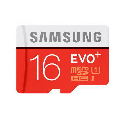 Samsung MB-MC16DA/EU microSDHC 16GB EVO Plus Samsung Class 10 + Adapter